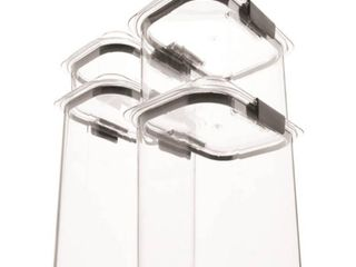 Rubbermaid 4 Piece Brilliance Dry Storage Set