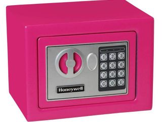 Honeywell 0 17 cu ft Steel Security Safe   Pink