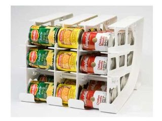FIFO   Can Tracker   Shelf Can Rotator   Pantry Tin Can Food Storage Rotation System