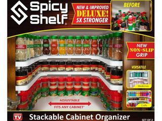 Spice Rack White   Spicy Shelf