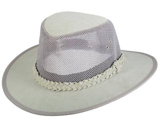 Men s Scala Classico Mesh Sided Safari Hat  Size  XXl