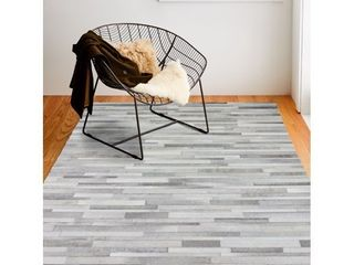 Bashian Tucker Contemporary Striped Area Rug  Retails 211 49