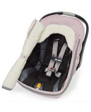 Skip Hop Stroll   Go Car Seat Cover   Pink Heather  Retails 41 99