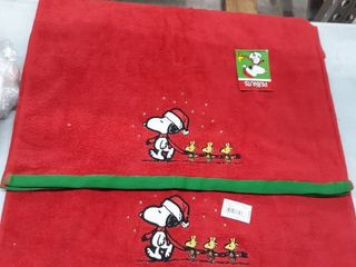 Peanuts Be Merry Christmas Bath Towel Collection