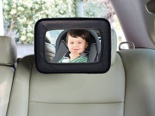 Dream Baby Backseat Mirror  Baby Car Mirror  Black