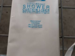 Splash Home light Weight Shower Curtain liner 70 X 72 In In Frosty