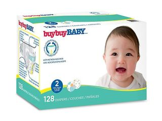 Buy Buy Baby 128 count size 2 club Box Diapers in Cirles and Stars