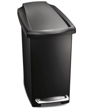 simplehuman 10 liter Slim Trash Can