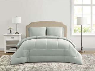 Wamsutta lustleigh 7 Piece Queen Comforter Set in Mint