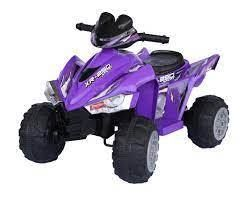 xr250 sport purple 4 wheeler has battery no charger