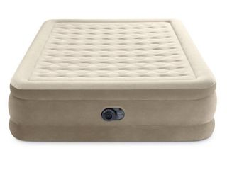 Intex Ultra Plush 20  Queen Air Mattress with 120V Internal Pump