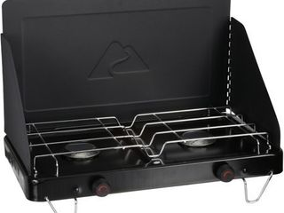Ozark Trail Propane Fold Up 2 Burner Camp Stove