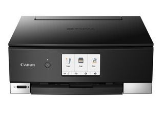 PIXMA TS8322 All In One Wireless Inkjet Photo Printer with Copier and Scanner  Black as is