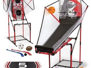 Majik 5 in 1 Arcade Sport Center Game System