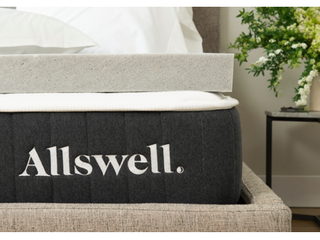 Allswell 3 Memory Foam Mattress Topper Infused with Graphite  Twin