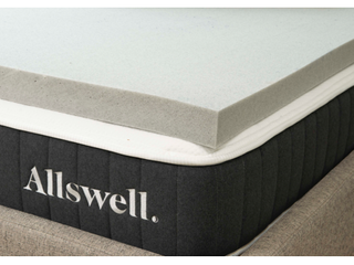 Allswell 3 Memory Foam Mattress Topper Infused with Graphite  Full