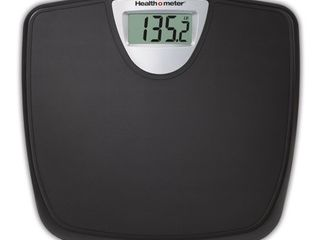 Health O Meter Weight Tracking Digital Bathroom Scale  Black  HDM770