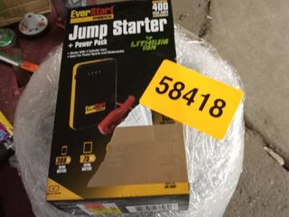 Everhart jump starter and power pack
