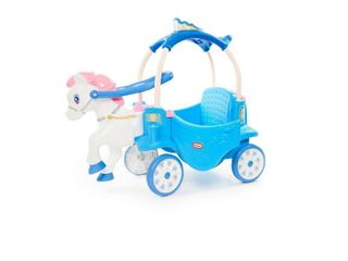 The little Tikes Princess Horse   Carriage   Frosty Blue