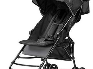 Summer Infant  3D Mini Convenience Stroller a lightweight Stroller with Compact Fold Multiposition Recline Canopy with Pop Out Sun Visor and More a Umbrella Stroller for Travel and More  Gray