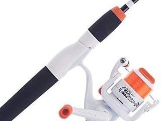 Shakespeare Customize It Spinning Reel and Fishing Rod Combo White  4 6    Medium light   2pc   4 6    Medium light