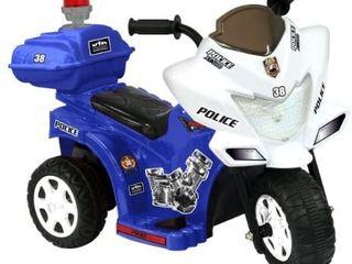 Kid Motorz lil Patrol 6V  Blue and White