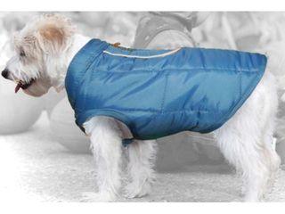 Kurgo loft Dog Jacket  X large  Blue Orange