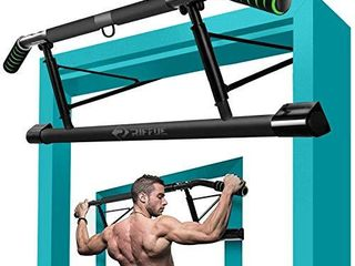 Kaufam Pull Up Bar Doorway Chin Up Bar Doorframe No Screw Hammer Grip Pullup Handles  Home Workout Equipment for Home Gym Indoor Exercise
