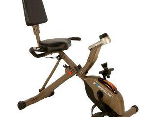 Exerpeutic 400lb Maximum Capacity Folding Foldable Recumbent Exercise Bike