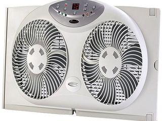 Jarden Home Environment Bionaire 9  Window Fan  ONlY 1 FAN WORKS