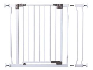 Dreambaby liberty Auto Close Stay Open Security Gate with 3 5  Extension White