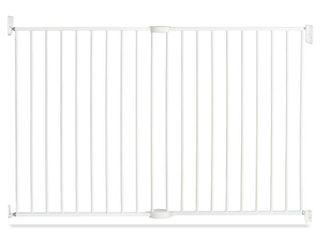 Munchkin Extending Metal Gate Tall   Wide Baby Gate  White