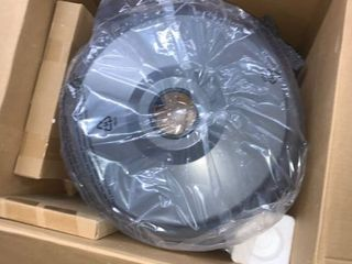 AmazonBasics Commercial Propane 46 000 BTU Outdoor Patio Heater Bronze   Grey