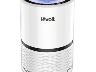 lEVOIT lV H132 Air Purifier with True Hepa Filter  Odor Allergies Eliminator for Smokers  Smoke  Dust  Mold  Home and Pets  Air Cleaner with Night light  US 120V