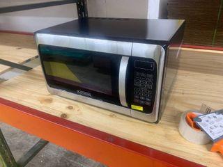 BlACK DECKER 1 1 Cu  Ft  1000 Watt Microwave Oven