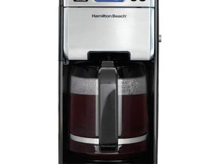Hamilton Beach 12 Cup Digital Automatic lCD Programmable Coffee Maker Brewer  Retail  104 99