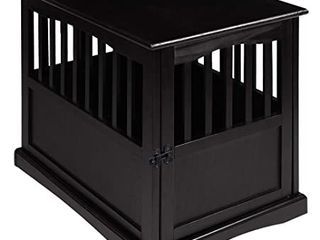 Casual Home Pet Crate End Table w  lockable latch for Medium Sized Pets  Black  Retail  221 99