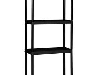 Gracious living 4 Tier Shelf light Duty Indoor Garage Storage Shelving Unit  Retail  69 99
