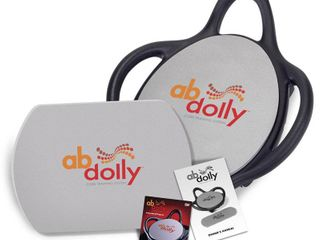 ABDolly Home Fitness Abdominal Abs Exercise Machine Equipment with Workout DVD  Retail  159 99