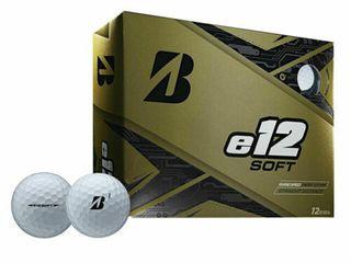 Bridgestone Golf Series e12 Soft 3 Piece Distance Golf Balls  White  Retail  29 99