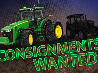 April 21st (Wednesday) - Semi-Monthly STATEWIDE Farm / Construction / Municipality EQUIPMENT Online
