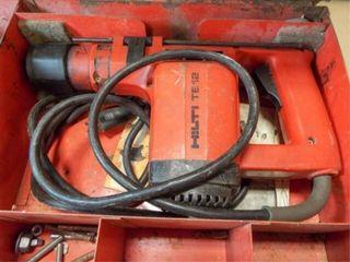 Hilti Pneumatic Hammer Drill in case