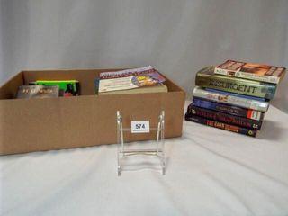 Books  Fiction  Textbooks  More   1 Box