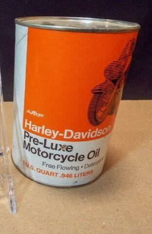 AMF Harley Davidson Oil  1 qt