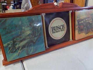 Busch Bavarian Beer lighted Sign