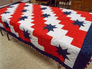 Honor Quilt  with label  66 x 50