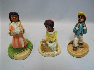 The Poppets Child Figurines  3
