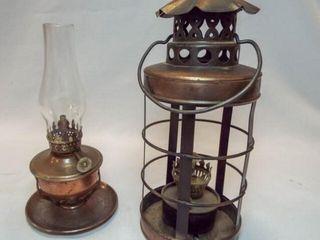 Metal Frame Oil lamps  2