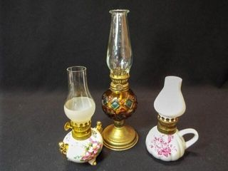 Small Oil lamps  3
