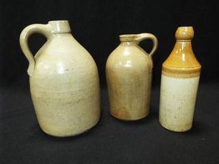 Stoneware Jugs  3